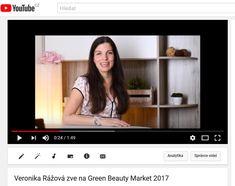 youtube.com - pozvánka - moderátorka a fotografka Veronika Rážová