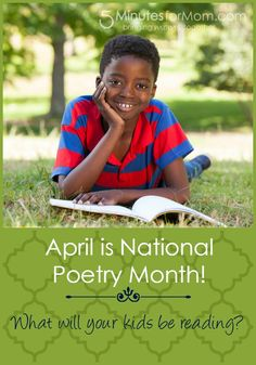 What Will You Read During April's National Poetry Month?  Here are some awesome ideas...
