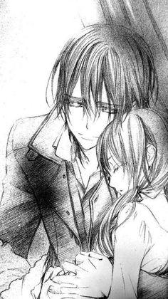 Kaname and Yuki - Vampire Knight