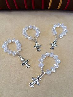 Decade Rosaries and Bracelets with cross and Miraculous Virgin Medal #bestofEtsy #design