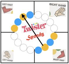 Finally a Twister Game I can play! Twister Game, Ankylosing Spondylitis, Left Handed, Play