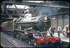 6000 KING GEORGE V Steam Railway, Steam Engine, Steam Locomotive, King George, Castles, 1950s, British, Iron, Horses
