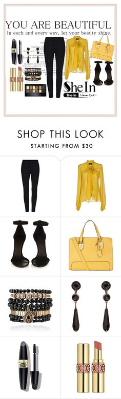 """""""You are beautiful..."""" by adhi85 ❤ liked on Polyvore featuring John Richmond, Isabel Marant, Samantha Wills, Givenchy, Max Factor, Yves Saint Laurent, Maybelline, women's clothing, women's fashion and women"""