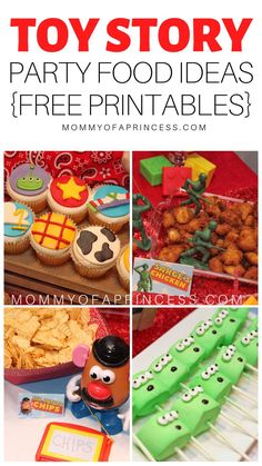 So many fun ideas for a Toy Story birthday party for girl including Toy Story first birthday party ideas, DIY Toy Story party ideas, and free Toy Story party food printables.