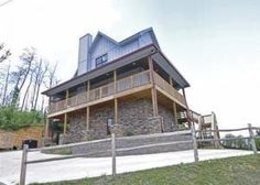 A Bearvue is a beautiful cabin in the Smokies with stonework on the outside Gatlinburg Cabin Rentals, Gatlinburg Tn, Cabins In The Smokies, Outdoor Gas Fireplace, Covered Decks, Pool Table, Mountain View, Great View, The Good Place