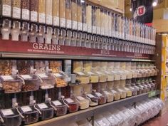 Bulk Food Storage (How to Store Bulk Foods, Flour, Nuts, Grains, Breads & Spices)