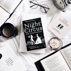 The Night Circus ~ Erin Morgenstern Book Instagram, Instagram Frame, Instagram Story Ideas, Rose Gold Aesthetic, Book Aesthetic, Flat Lay Photography, Book Photography, Book Flatlay, 100 Books To Read