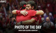 Davis cup 2014 #Federer #Wawrinka #fedrinka best doubles