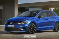 VW Is Working On A 300bhp 'Polo R', And It Could Be All Kinds Of Awesome Volkswagen Polo, Vw Polo R, Hatchback Cars, Hyundai Veloster, Vans, Sport Seats, Vw Cars, Four Wheel Drive, Golf
