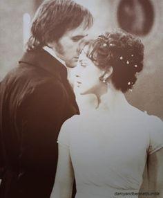 Pride and Prejudice - Keira Knightley (Elizabeth) and Matthew MacFadyen (Darcy). From the novel by Jane Austen.