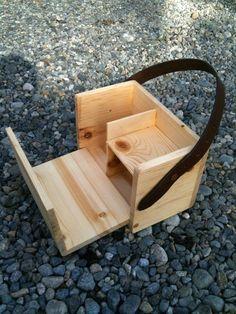Wood Lunch Box: