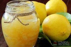 Receita de Geléia de limão - Comida e Receitas