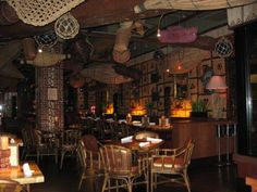 Trader Vic's Bellevue, Washington, Bellevue, WA (restaurant) -- Tiki Central (I miss this place so much, especially this cold wet dark time of year)