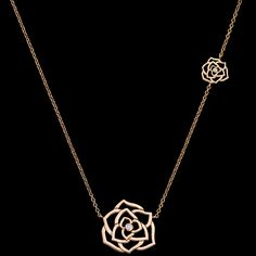 Rose gold Diamond Pendant G33U0086 - Piaget Luxury Jewelry Online