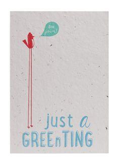 Send & Grow card - A3