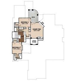 House Plan 413-130 -- Floor 2