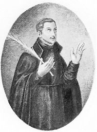 St. Thomas Garnet-Saint Thomas Garnet (born c.1575 in Southwark and executed on 23 June 1608 in London) was a Jesuit priest. He was executed at Tyburn and is one of the Forty Martyrs of England and Wales