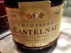 El Alma del Vino.: Champagne de Castelnau Blanc de Blancs Millésimé Brut 2002.