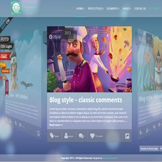Storyline Board WordPress Theme | Best WordPress Themes 2013