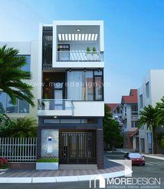 Công trình:Thiết kế nhà phố hiện đại 3 tầng Quận 8, DT 4,5×16,5m Tư vấn thiết kế: CTY TNHH THIẾT KẾ & XÂY DỰNG MORE (MOREDESIGN) Với phong cách thiết kế kiến trúc nhà phố hiện đại, những hình khối...