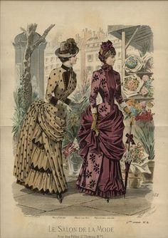 Le Salon de la Mode 1884
