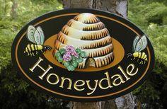 Honeydale Property Sign / Danthonia Designs