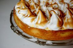 french lemon meringue tart