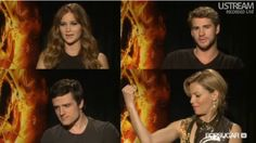 The Cast of the Hunger Games #Katnis #Gale #Peeta #Effie