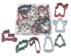 R  M Christmas Holly 7Piece Color Cookie Cutter Set * Read more reviews of the product by visiting the link on the image.(This is an Amazon affiliate link and I receive a commission for the sales)
