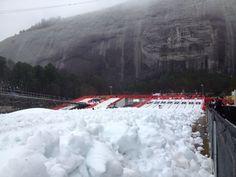 Snow Mountain at Stone Mountain Park http://stressfreebaby.com/2013/12/stone-mountain-park/