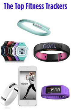 Top 5 Fitness Trackers.  Fitness trackers help you stay on target to your goals and are a great motivator to keep you pushing throughout your workout.