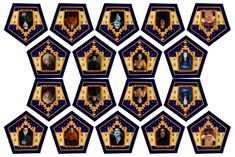 AMAZING HP BLOG Has GREAT Chocolate Frog Cards and Template, and also has other book/movie based documents.