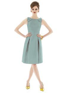 Alfred Sung Style D628 color: atlantis http://www.dessy.com/dresses/bridesmaid/d628/