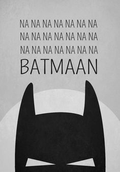 Wiho Design Plakat Batman