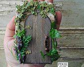The Secret Garden altered Altoids style tin magical miniature scene
