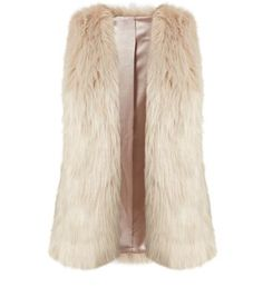 """Prepare for the colder season ahead with this faux fur gilet - wear over an all black ensemble.- Faux fur material- Sleeveless design- Open front- Soft finish- Casual fit- Sateen lining- Model is 5'8""""/176cm and wears UK 10/EU 38/US 6"""