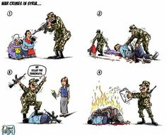 War crimes in Syria | Anonymous ART of Revolution
