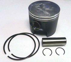 WSM Mercury Top Guided Piston Kit 2.5 L 100-20pk 9737T 9 100-20sk 785-9737T9