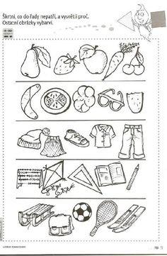 Co nepatří do skupiny Kids Learning Activities, Brain Activities, Autumn Activities, Kindergarten Worksheets, Classroom Activities, Hidden Pictures, Elementary Music, School Humor, Preschool Crafts
