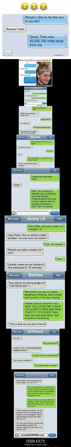 Top 10 Hilarious Text Messages ft. Exes