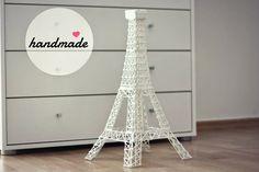 decor, eiffel tower, handmade http://www.sashe.sk/deliciousdame/detail/eiffelova-veza
