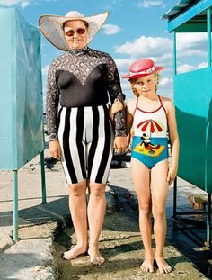 holidays with granny ...... hahaha.  why is it grannies don't really care what they look like?  too funny.