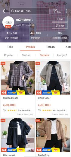 Best Online Clothing Stores, Online Shopping Clothes, Online Shop Baju, Casual Hijab Outfit, Shopping Websites, Aesthetic Clothes, Fashion Outfits, Fashion Tips, Mood
