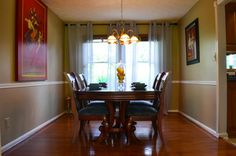 Chair Railing Molding Dining Design Ideas, Pictures, Remodel and Decor