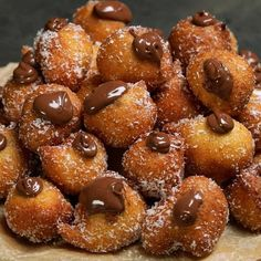 """This is """"Frittelle al cocco e Nutella"""" by Al.ta Cucina on Vimeo, the home for high quality videos and the people who love them. East Dessert Recipes, Snack Recipes, Cooking Recipes, Masterchef, Easy Cooking, Cooking Box, Cooking Rice, Slow Cooking, Cooking Light"""
