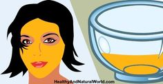Honey, yogurt & turmeric Face Mask Recipe for Glowing Skin, Acne, Rosacea, Eczema and Dark Circles