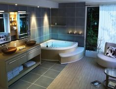 Have you heard about these stylish bathroom interior designs?