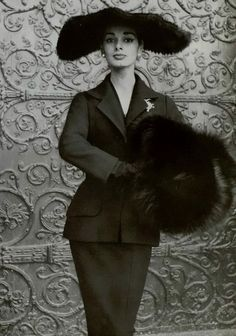 Suit by Christian Dior, 1954