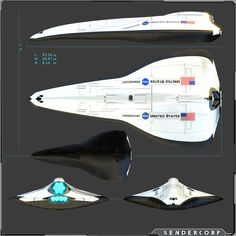 Concept Advance Shuttle by PINARCI.deviantart.com on @DeviantArt