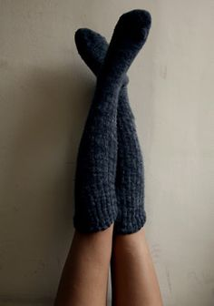 Cozy knee socks